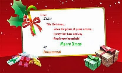 Best Free Email Christmas Cards Templates