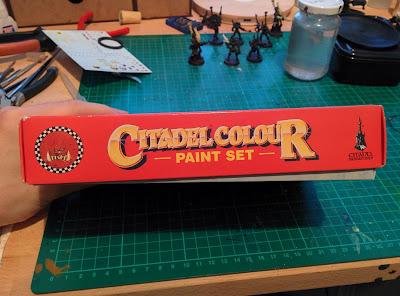 Citadel Colour Paint Set 1994 - Otherwise Closed