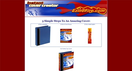 Free Online eCover Maker | EzineFire