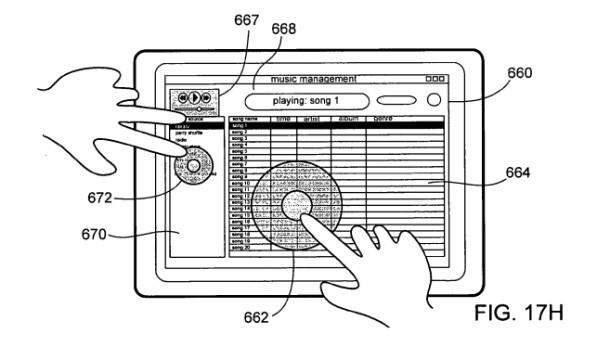 براءة اختراع جديدة لتطوير آيفون وآيباد