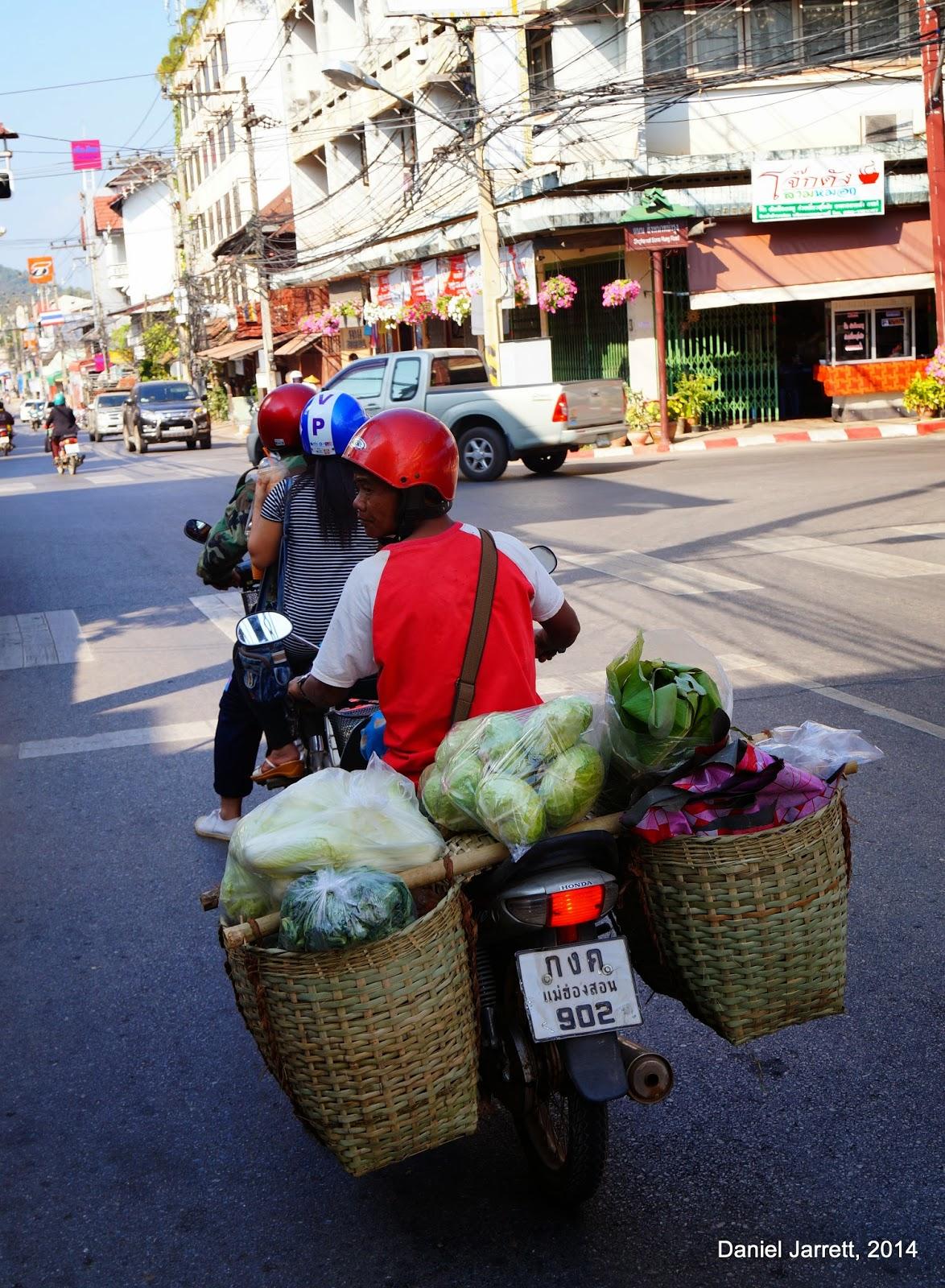 Mae Hong Son Bike Overload