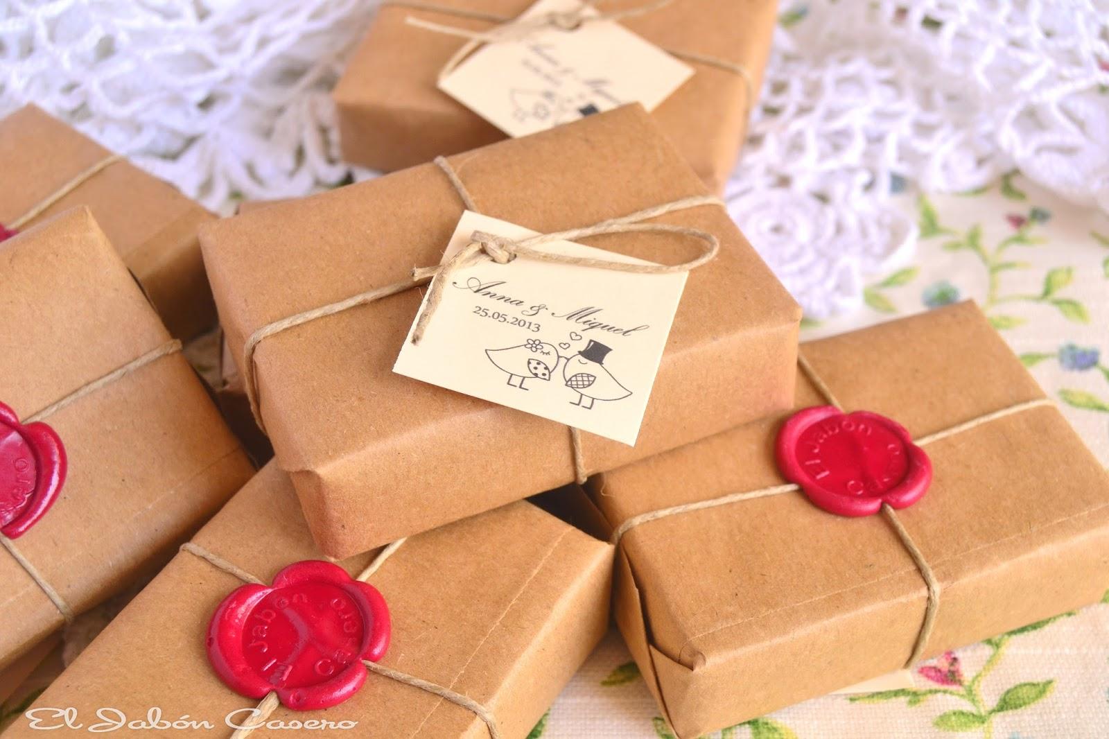 Detalles para bodas ecologicas habones caseros