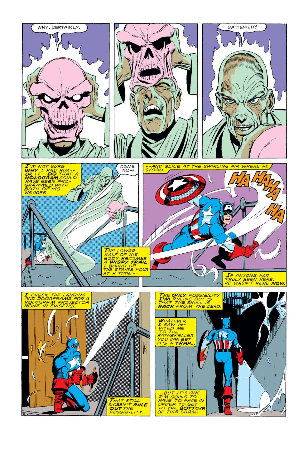 Captain America (1968) Issue #326 #255 - English 6