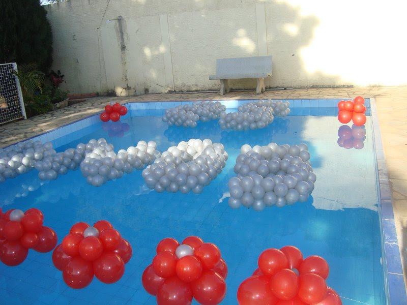 decoracao festa na piscinaELSHADAY FESTAS E EVENTOS Decoração de