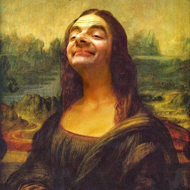 Mr Beans - The Mona Lisa La Gioconda or La Joconde