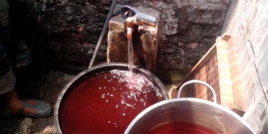 air sumur di lenteng agung menjadi merah Heboh !! Air Sumur Menjadi Merah di Lenteng Agung Jakarta Selatan
