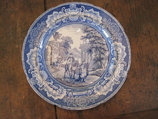 Staffordshire plate