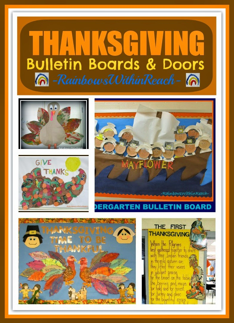 Thanksgiving Bulletin Board Collection
