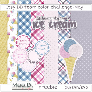 Free digi scrap Ice Cream from Mee Digi Scrap {PU}