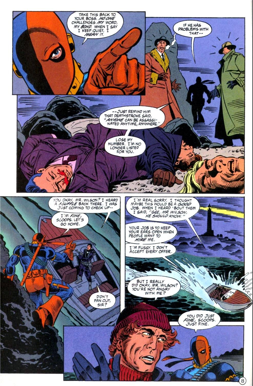 Deathstroke (1991) Issue #6 #11 - English 9
