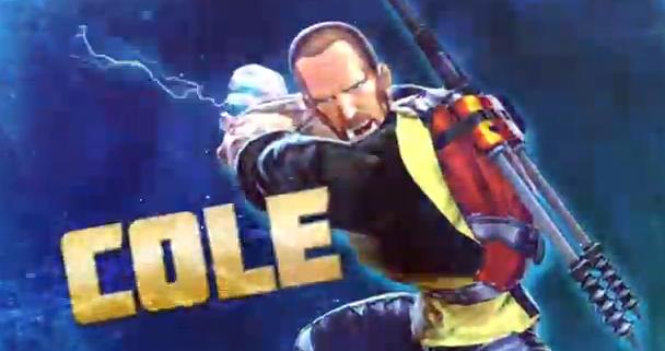 Street Fighte X Tekken 2012 sony exclusive cole macgrath infamous