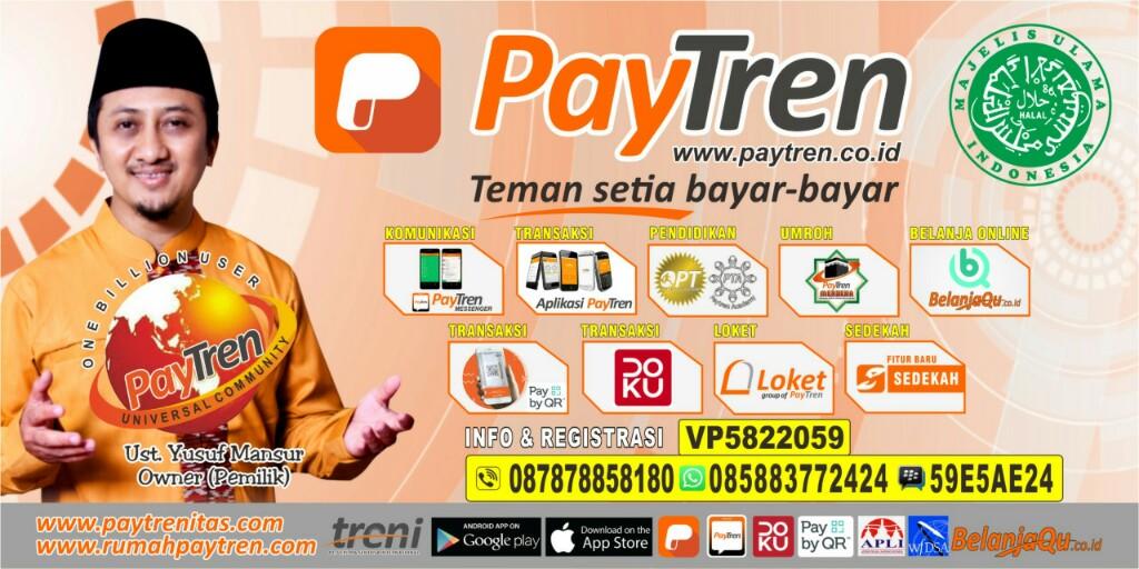 PAYTRENITAS.com | PayTren | Bisnis bersama Ustadz Yusuf Mansur