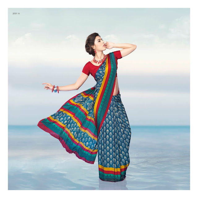 Essence – Casual Printed Saree Collection Supplier