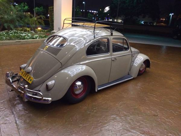 Slammed 1957 Oval Window