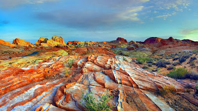Rainbow Vista, Valley of Fire State Park, Nevada (© Tim Fitzharris/Minden Pictures) 450