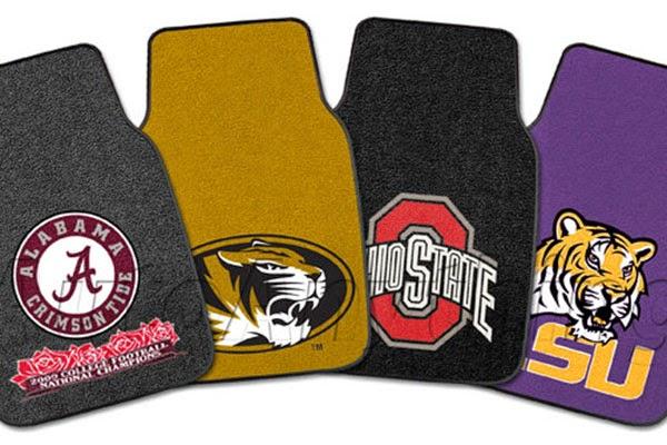 Comentry Floor Mats : Comentry Floor Mats : NCAA Logo Floor Mats