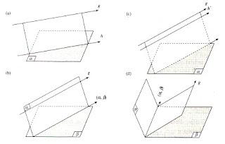garis - garis sejajar bidang