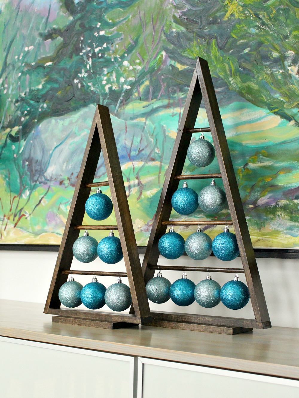 Christmas ornament holders - Modern Christmas Decor