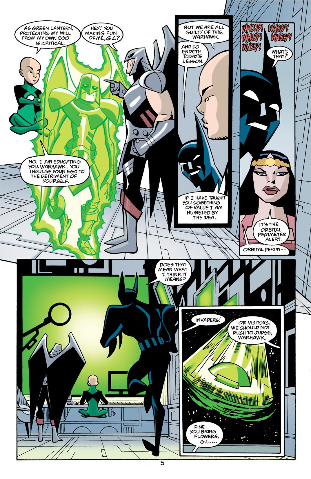 Batman Beyond [II] Issue #21 #21 - English 6