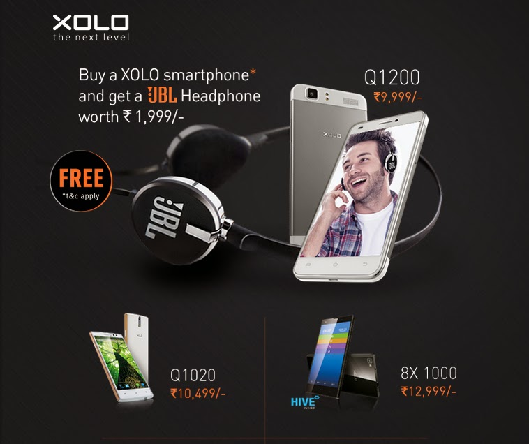 Xolo free headphone