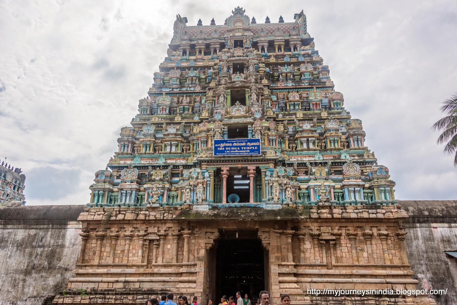 Pateeshwaram Durga Temple Tower