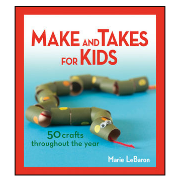 Almost unschoolers make and takes for kids craft book for Make it take it crafts