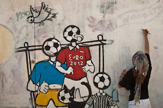 euro 2012 picture on the wall wallpaper free