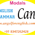 Can-Modal Auxiliary Verb in English Grammar