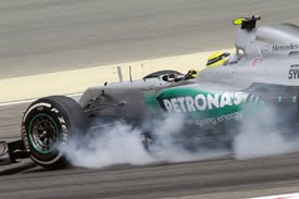 "Rosberg ""Tyres a big issue"""