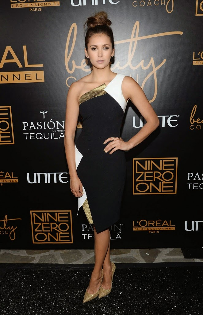 Nina Dobrev – Nine Zero One Salon Melrose Place Launch Party in LA