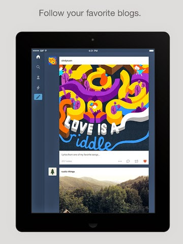 Tumblr for iOS gets interactive notifications, integration with 1Password and Authy, and more