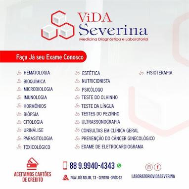 LABORATÓRIO VIDA SEVERINA