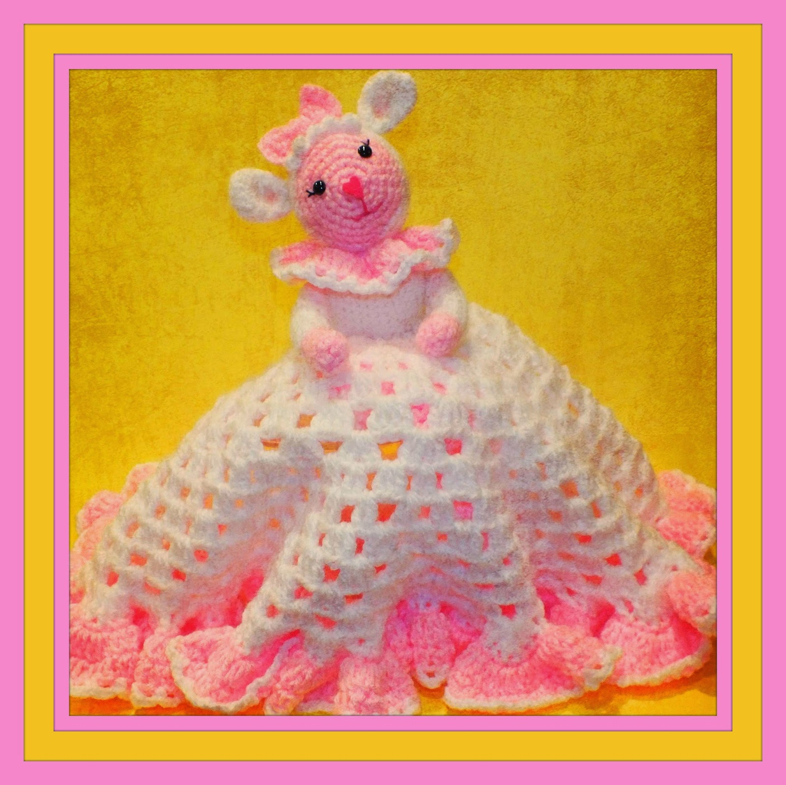 Free Crochet Lamb Cuddle Blanket Pattern : Connies Spot? Crocheting, Crafting, Creating!: Sweet ...