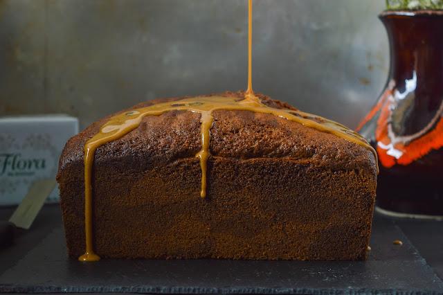 mocha swirl cake with espresso icing