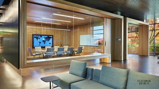 Marzua mamparas de vidrio de oficinas para separar espacios for Mamparas para dividir ambientes