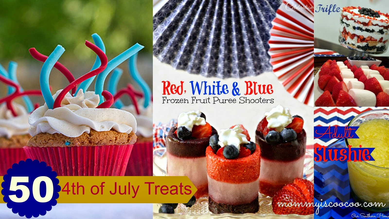 4th of july treats, 4th of july party, 4th of july recipes from mommy is coocoo