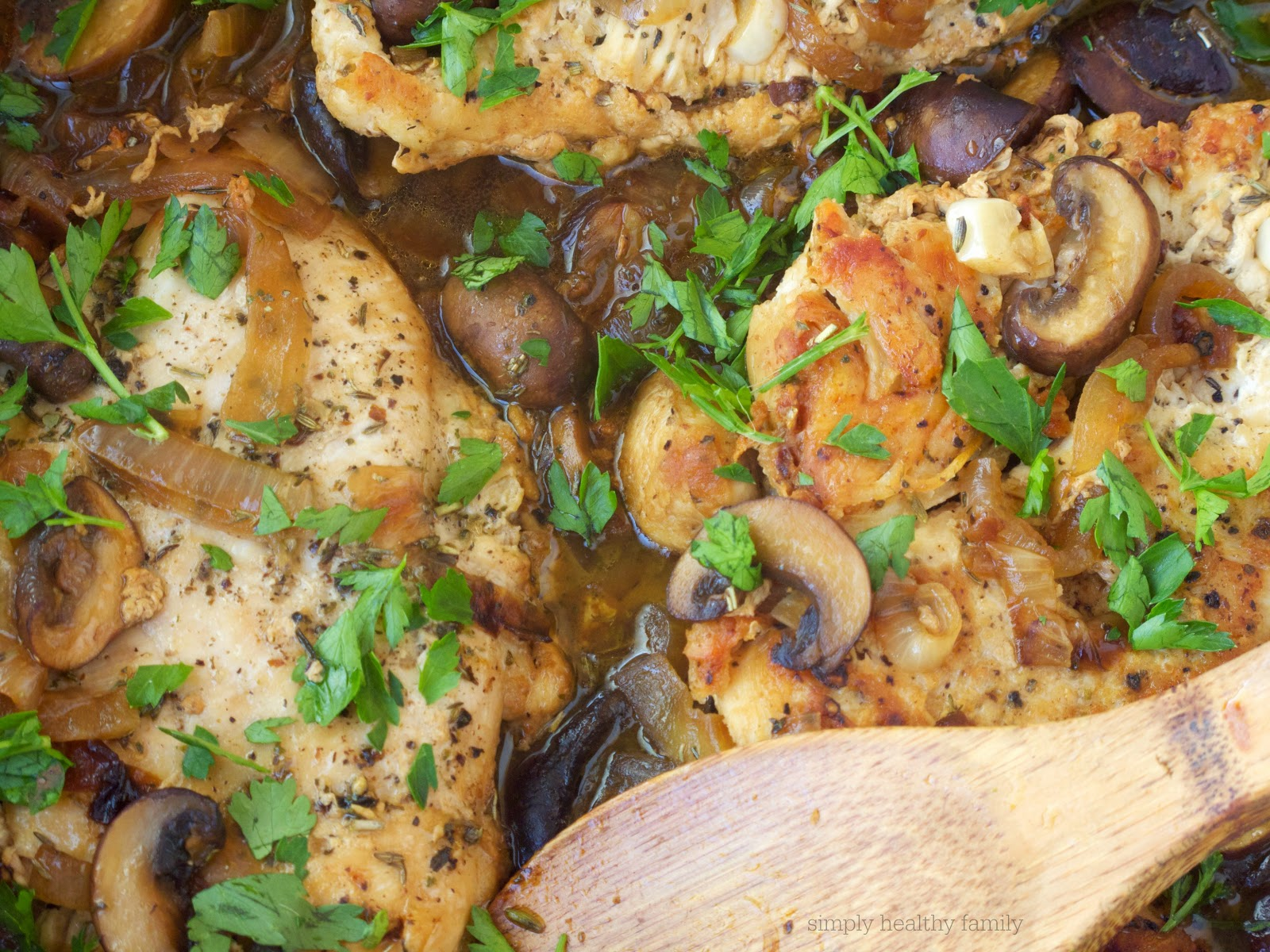 healthy chicken marsala recipe