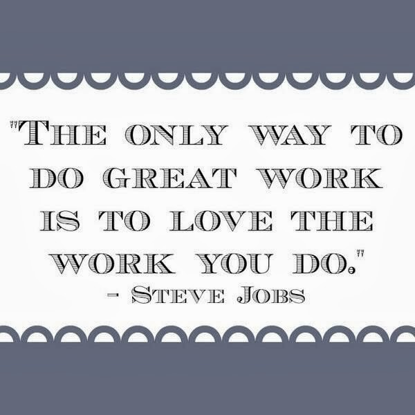 soap blog monday inspirational quote love your work