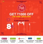 Jabong - Get Rs.1000 off on purchase of Rs. 2999
