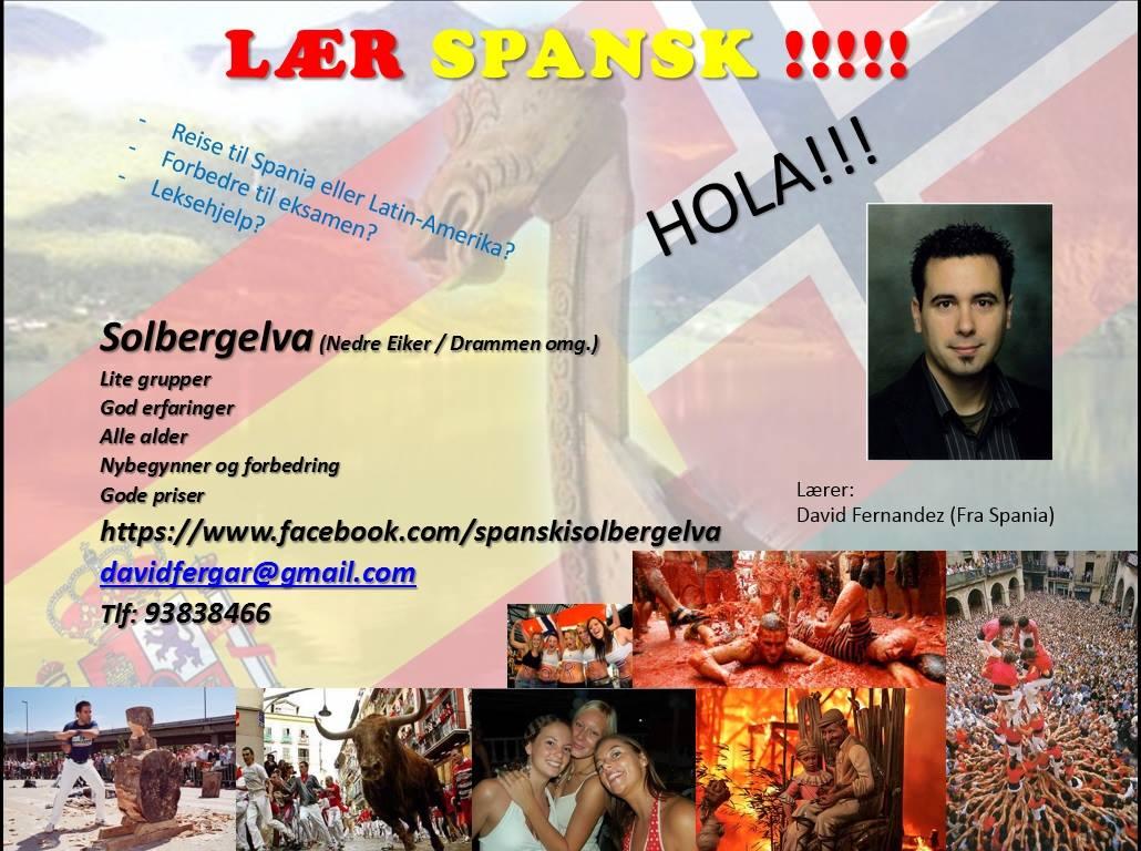 Lær spansk i Solbergelva