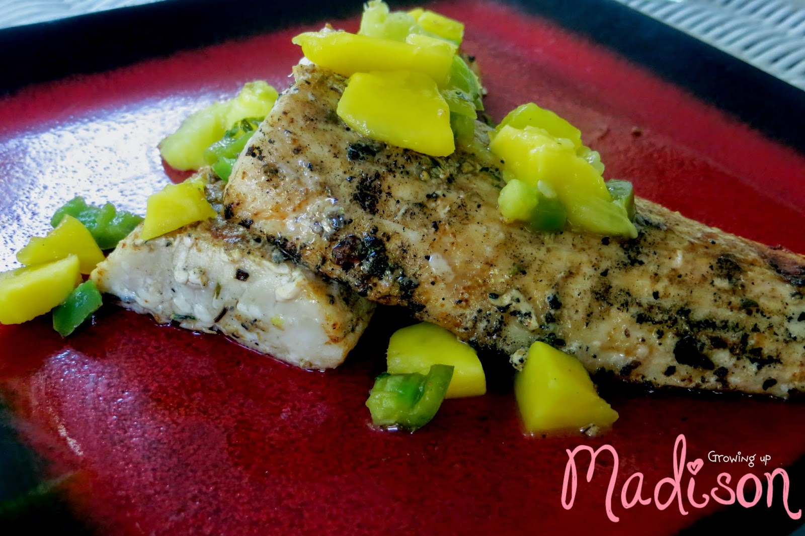 Spicy Mango Mahi Mahi Recipe — Dishmaps