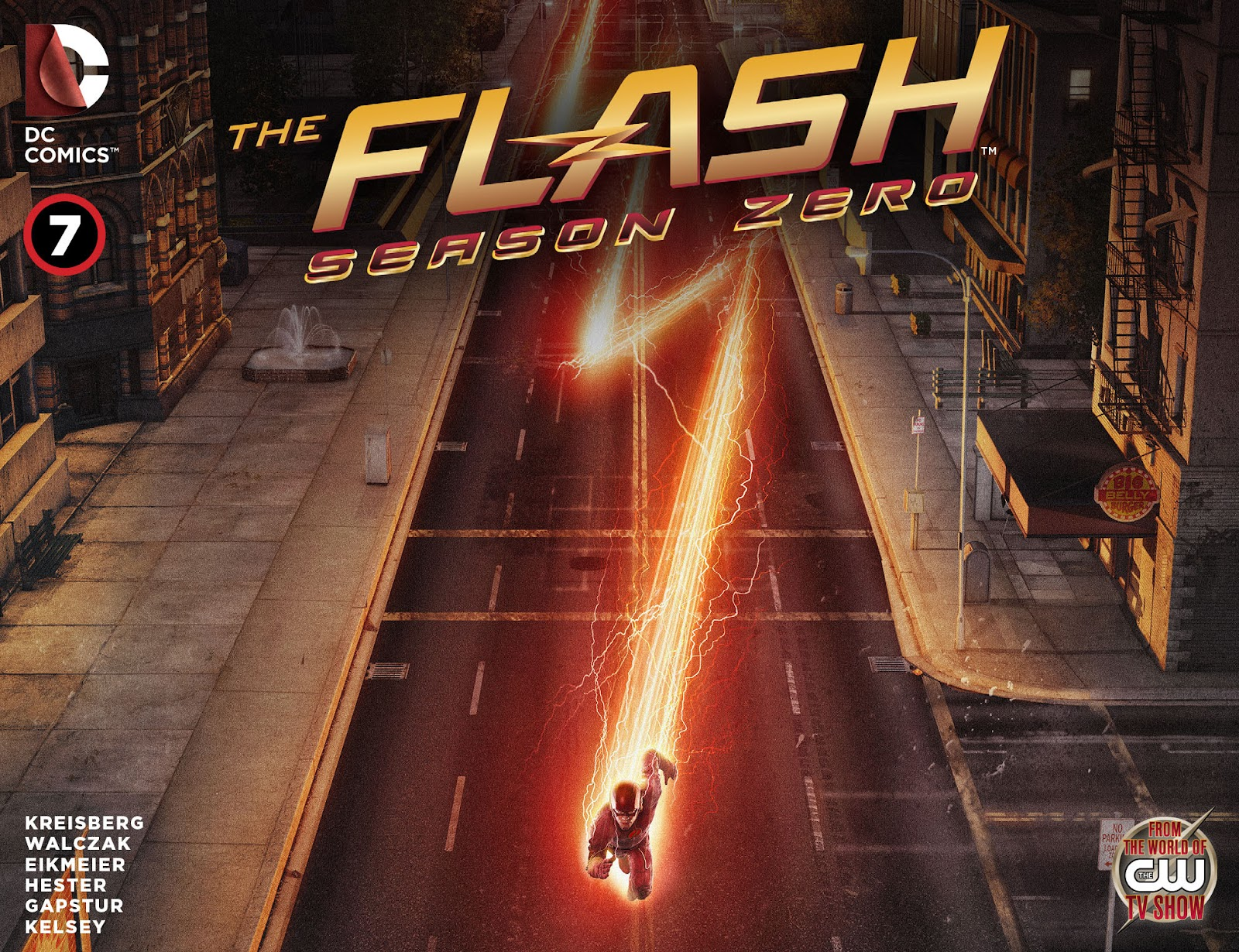 The Flash: Season Zero [I] Issue #7 #7 - English 1