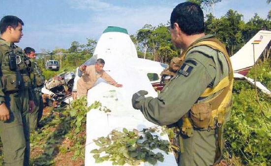 Cocaína en Bolivia