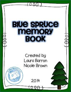https://www.teacherspayteachers.com/Product/Blue-Spruce-Memory-Book-1121908