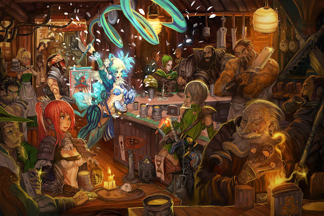 elsevilla tavern art