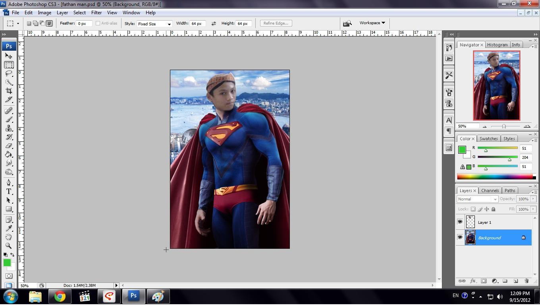 Cara Mudah Edit Foto Orang Dengan Foto Orang Lain Di Photoshop !!