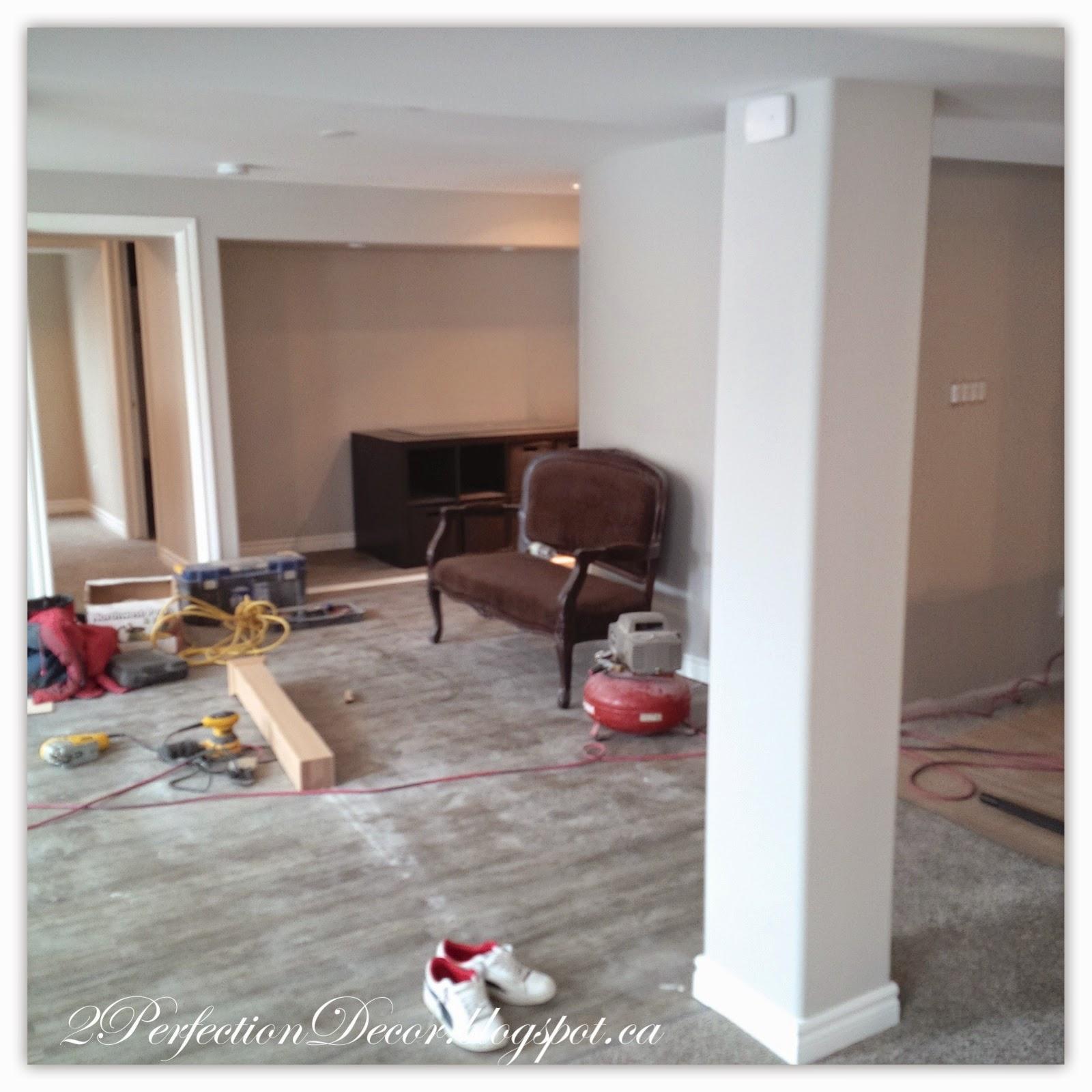 2Perfection Decor Basement Flooring Gets Installed