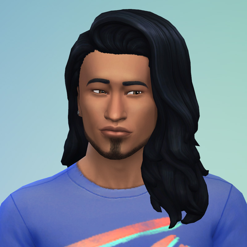 My Sims 4 Blog Long Ear Tuck And Long Hair Flipped Gender