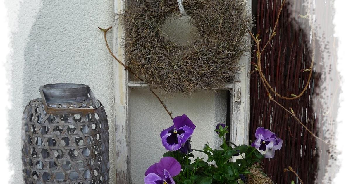 Anca s welt neue alte deko f r die terrasse - Sprossenfenster deko ...
