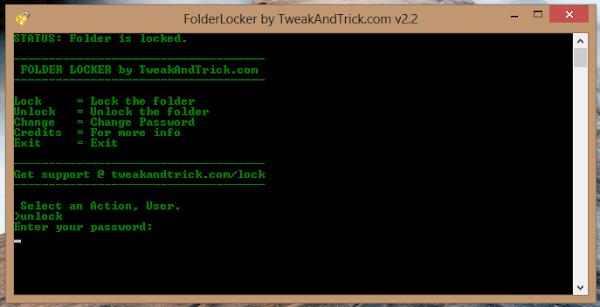 Free Folder Lock
